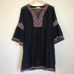 Johnny Was tunic coverup dress